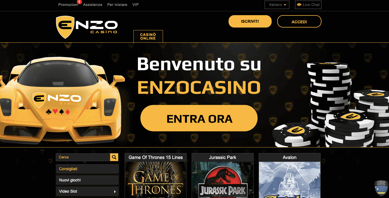 enzo casino homepage